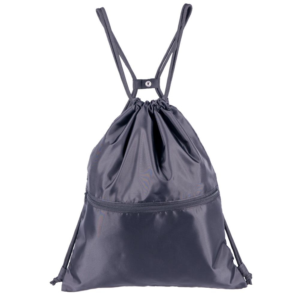 c3422ead213c HOLYLUCK Gym Sack Bag Drawstring Backpack Sport Bag for Men & Women  Sackpack,DHL free shipping to USA-Black