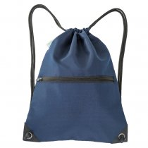 HOLYLUCK Men & Women Sport Gym Sack Drawstring Backpack Bag Navy, DHL free shipping to USA