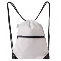 HOLYLUCK Men & Women Sport Gym Sack Drawstring Backpack Bag white, DHL free shipping to USA