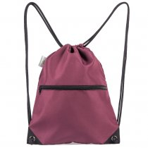 HOLYLUCK Men & Women Sport Gym Sack Drawstring Backpack Bag burgendy, DHL free shipping to USA