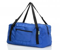 Free shipping HOLYLUCK Foldable Travel Duffel Bag For Women & Men Luggage Great for Gym (Blue)