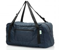 Free shipping HOLYLUCK Foldable Travel Duffel Bag For Women & Men Luggage Great for Gym (Navy Blue)