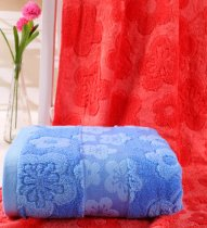 50x100 - Blue Extra-Absorbent Baby Bath Towel