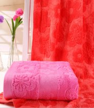 50x100 - Pink Extra-Absorbent Baby Bath Towel