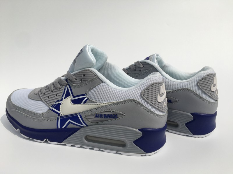 Dallas Cowboy Air Max Nike Shoes  c1e68c05e