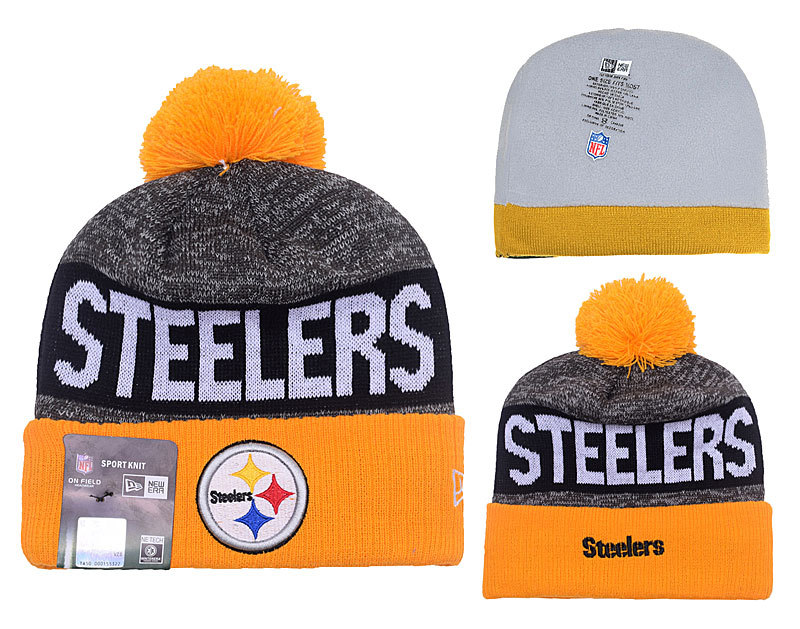 3bbd390d1 best pittsburgh steelers new era on field sport knit hat 37d23 3c585