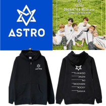 ALLKPOPER Kpop ASTRO Summer Vibes Zipper Coat Unisex Jacket Outwear MJ EUNWOO MOONBIN