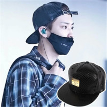 ALLKPOPER EXO EXO-K Chanyeol Roomate Cap PU Leather Adjustable Hat