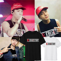 ALLKPOPER Kpop VIXX T-shirt Ravi 1st Live Party Tshirt Unisex Hyuk N R Short Sleeve Cotton