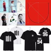 ALLKPOPER Kpop NCT U New Album WITHOUT YOU Tshirt Unisex JaeHyun T-shirt Tee TEN DoYoung