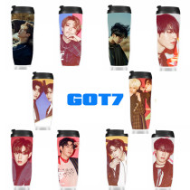 ALLKPOPER Kpop GOT7 Hard Carry Water Cup Jackson Bambam Bottle JB JR Mark Tea Coffee Cup