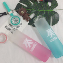 ALLKPOPER KPOP MONSTA X Water Cup Shine Forever Gradient Glass Bottle Shownu Frosted Drink