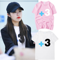 ALLKPOPER Kpop MAMAMOO Whee In T-shirt Street Shooting T-shirt Casual Cotton Tee