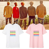 ALLKPOPER KPOP Bigbang T-shirt G-Dragon Tshirt 2017 New Summer Dae Sung Young-Bae Tee Tops