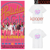 ALLKPOPER KPOP Girls' Generation T-shirt The 10th Anniversary Holiday Night Tshirt SNSD Casual Tee