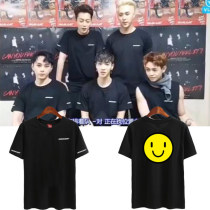 ALLKPOPER KPOP HIGHLIGHT T-shirt LIVE CAN YOU FEEL IT Concert Tshirt Casual Tee Tops Jun Hyung Lee Gi Kwang