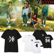 ALLKPOPER KPOP EXO T-shirt The War Tshirt Tee Casual Tops KAI CHEN XIUMIN 2017 New
