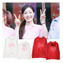ALLKPOPER KPOP Girls' Generation Cap Hoodie 10th Anniversary Holiday Night Concert Hoody Pollover Sweatershirt SNSD