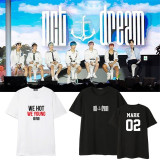 ALLKPOPER KPOP NCT Haechan T-shirt Dream Album Tshirt We Young Casual Letter Tee Tops
