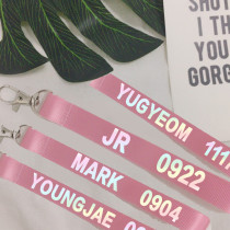 ALLKPOPER KPOP GOT7 Key Chain MARK Keyring BAMBAM JACKOSN JR JB YUGYEOM YOUNGJAE
