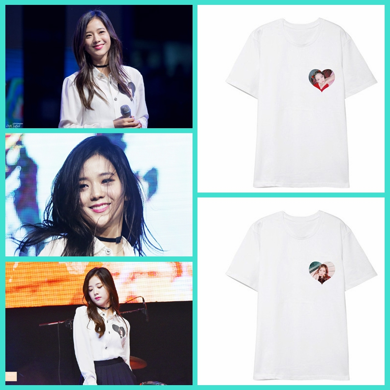 210a7c8f ALLKPOPER KPOP Blackpink T-shirt JENNIE Tshirt LISA ROSE Tee Tops JISOO  Item NO: 598014
