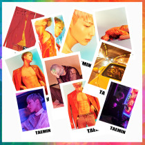 ALLKPOPER 20 Pcs KPOP SHINee Taemin Lomo Card Flame of love Photo Final Life Picture