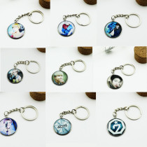 ALLKPOPER KPOP GOT7 Keyring 7 FOR 7 Key Chain MARK JACKSON Metal Jewelry YUGYEOM