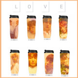 ALLKPOPER KPOP BTS Bottle Bangtan Boys Water Cup BT21 Love Yourself Drinking Bottle JIMIN