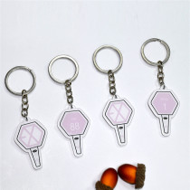 ALLKPOPER KPOP EXO Keyring THE WAR Key Chain XIUMIN CHEN KAI SEHUN CHANYEOL