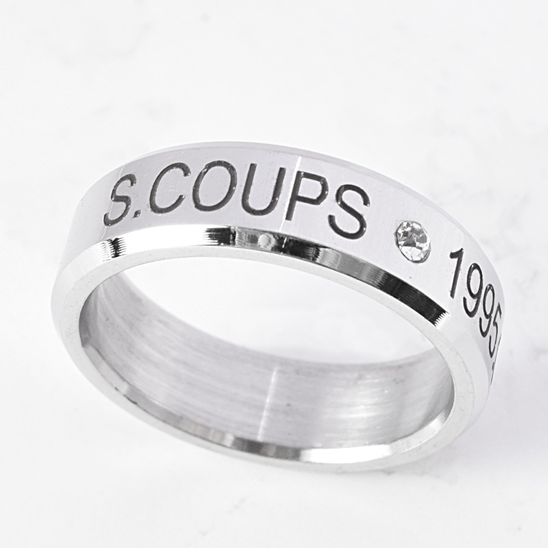 1f95dc20042 US  0.99 - K-POP SEVENTEEN Ring DINO Finger Rings for Women MINGYU THE8  WOOZI VERNON DK New - www.allkpoper.com