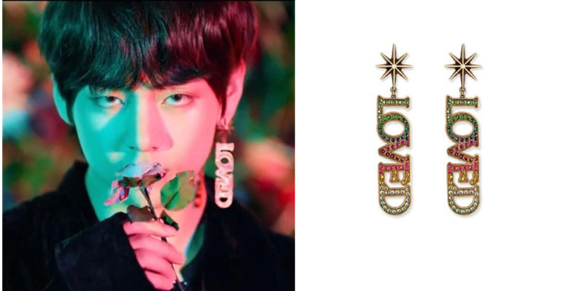 BTS V Earrings