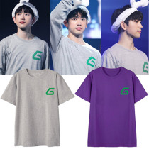 KPOP GOT7 T-Shirt Japan Concert Tshirt JACKSON Bambam JB JR Tee Casual Cotton Tops