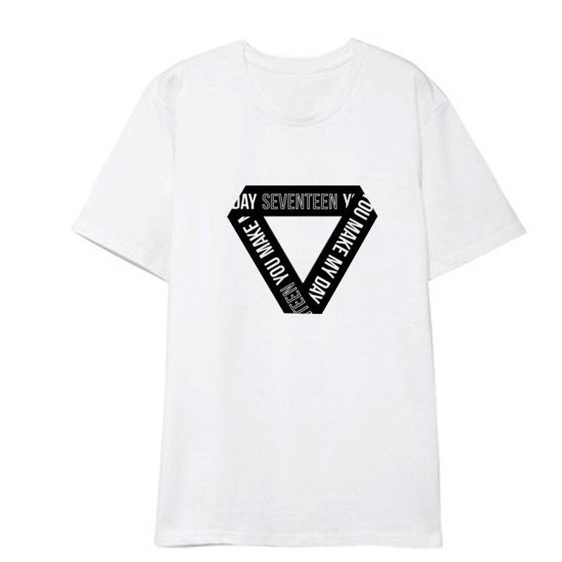 5d3824046536 US$ 9.99 - KPOP Seventeen T-shirt You Make My Day Concert Tshirt HOSHI THE8 DINO  DK Tee - www.allkpoper.com