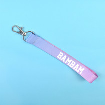 KPOP GOT7 Keychain Gradient Color Cellphone Holder Strap Jackson JB JR Keyring
