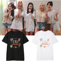 EXID T-shirt 2019 Summer Live TROUBLE concert 7th anniversary with short-sleeved T-shirt