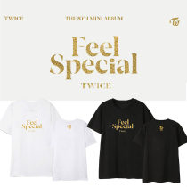 Kpop TWICE short-sleeved album Feel Special print with short-sleeved T-shirts