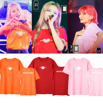 Kpop MOMOLAND T-shirt 2019 Chiri Chiri concert with short-sleeved T-shirts for men and women