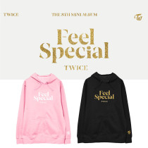 Kpop TWICE sweater album Feel Special with the sweater head hooded sweater plus velvet thin men and women sweater