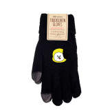 Kpop BTS Bangtan Boys Gloves Winter Plus Velvet Thickening Knit Touch Screen Gloves Warm Touch