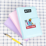Kpop BTS Bangtan Boys Notebook With The Same Cute Candy Color Notepad Student Notebook