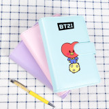 Kpop BTS Bangtan Boys Notebook Cute Notepad Student Writing Book School Supplies