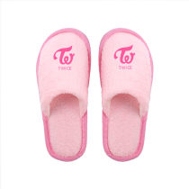 Kpop Idol Producer Slippers TWICE SEVENTEEN Home Shoes Warm Cotton Shoes Autumn and Winter Women's Slippers