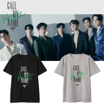Kpop GOT7 T-shirt Album Call My Name Same paragraph Short-sleeved T-shirt Top
