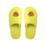 Kpop BTS Slippers Bangtan Boys Home Shoes Flat Cotton Shoes Warm Winter Cold Autumn Cute Casual Women's Shoes