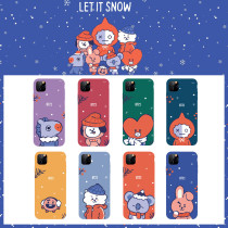 Kpop BTS Phone Case Bangtan Boys Christmas Applicable Apple iphoneXS/11 Anti-fall Hard Case