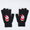 Kpop BTS Gloves Bangtan Boys Christmas Touch Screen Fingerless Gloves Winter Wool Warm Gloves
