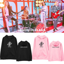 Kpop MAMAMOO Sweater Album REALITY IN BLACK Hooded Sweatshirt Pullover Plus Velvet Hoodie