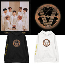 Kpop WayV Album Take Over The Moon With Hooded Sweatshirt Plus Fleece Thin Loose Jacket