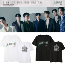 Kpop GOT7 T-shirt album Call My Name short-sleeved bottoming shirt YUNG JAE JACKSON