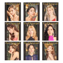 Kpop TWICE Photo Card FEEL SPECIAL Album LOMO Card Photo Photo Greeting Card Creative Postcard